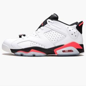 Air Jordan 6 Retro Low  Infrared 23 Sneakers 12